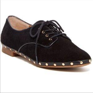 Dolce Vita Black studded oxfords 6
